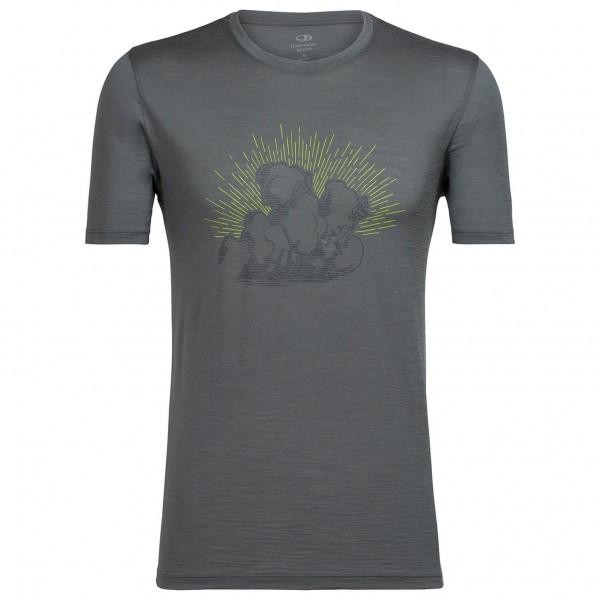 Icebreaker - Tech Lite S/S Crewe Cloud Climbers - T-Shirt