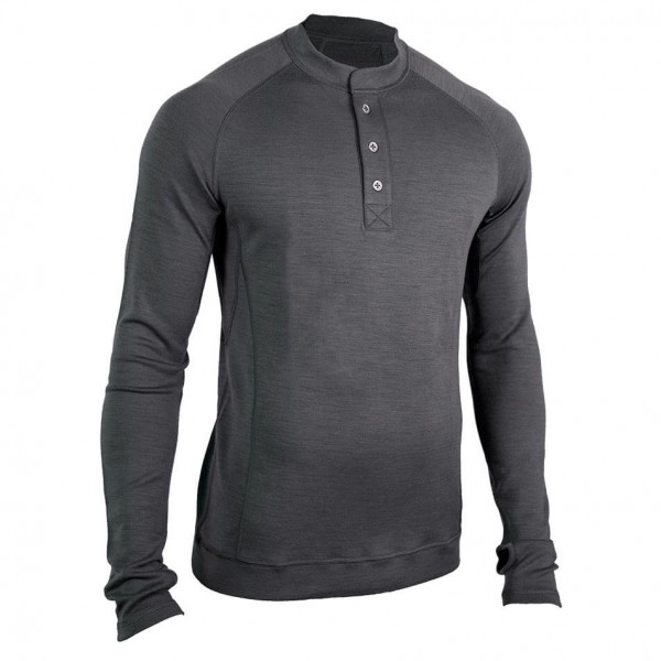 Showers Pass - L/S Bamboo-Merino Sport Henley - Funktionströja