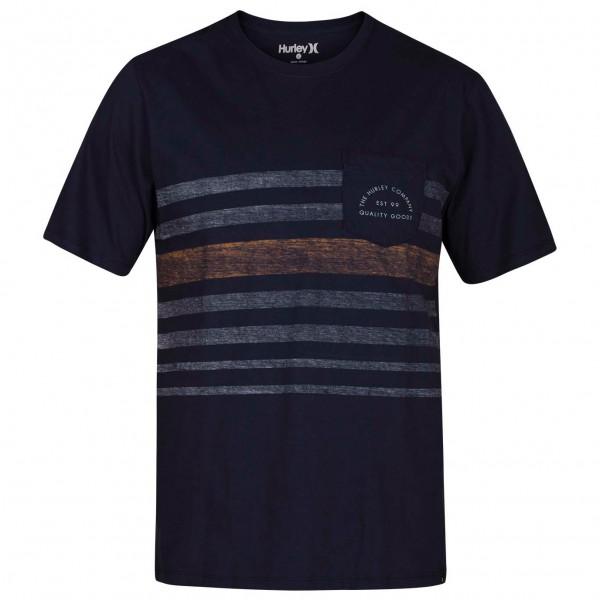 Hurley - Kanpai Stripe Pocket S/S - T-paidat