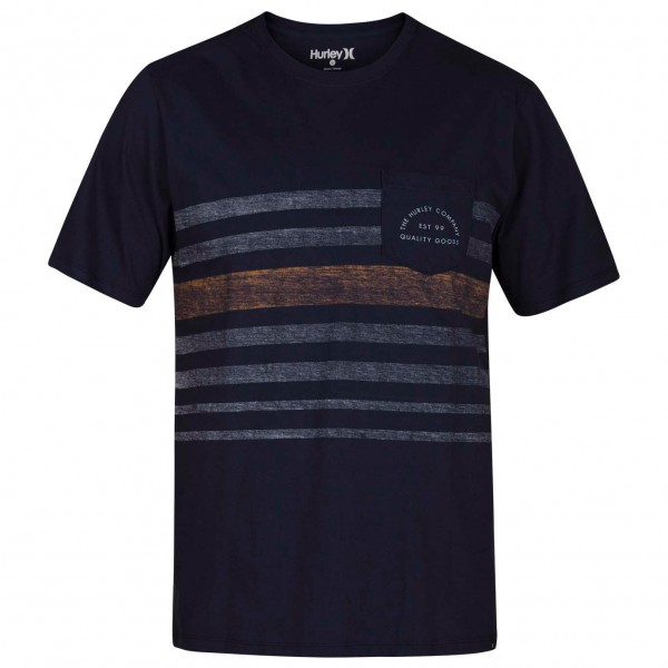 Hurley - Kanpai Stripe Pocket S/S - T-shirt