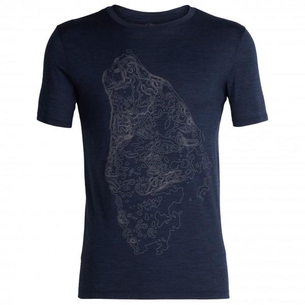 Icebreaker - Tech Lite S/S Crewe Contour Wolf - T-shirt