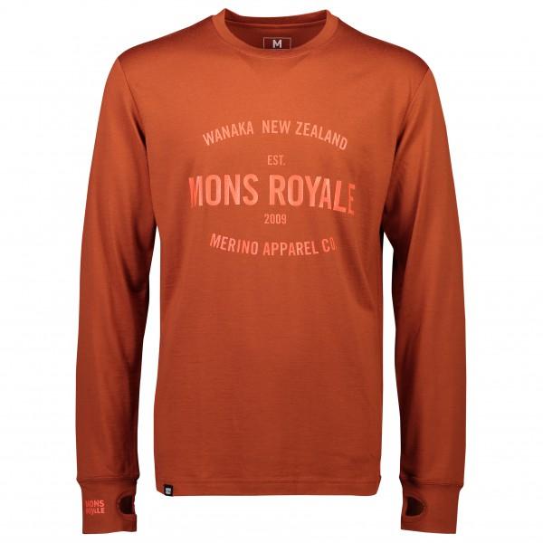 Mons Royale - Yotei Tech L/S - Camiseta de manga larga