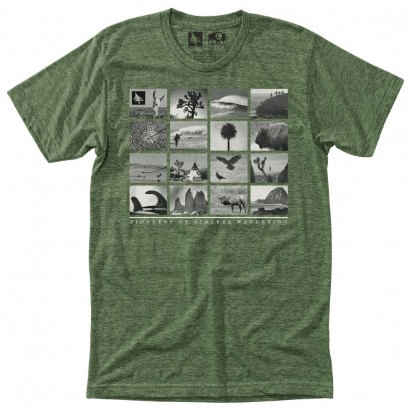 Hippy Tree - Montage Tee - T-Shirt