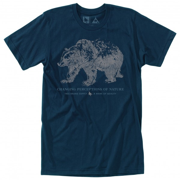 Hippy Tree - Woodprint Tee - T-shirt