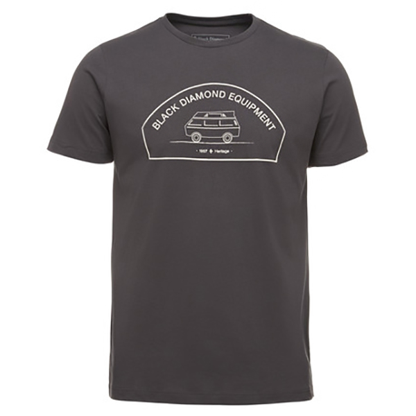 Black Diamond - S/S Rock Van Tee - T-shirt