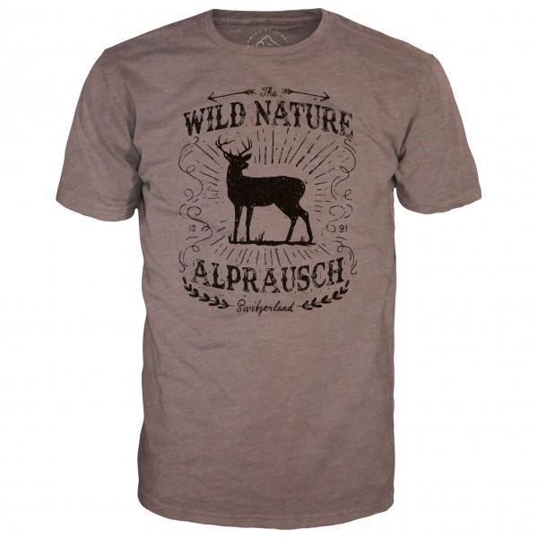 Alprausch - Wild-Hirsch T-Shirt - T-paidat