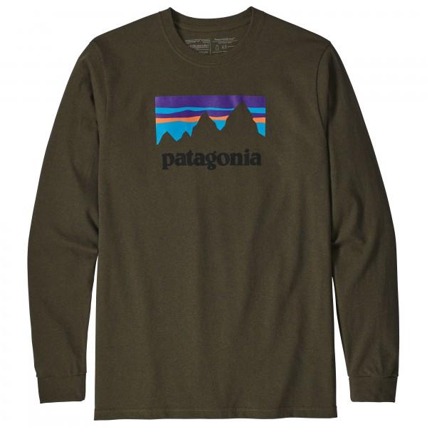 Patagonia - L/S Shop Sticker Responsibili-Tee - Longsleeve