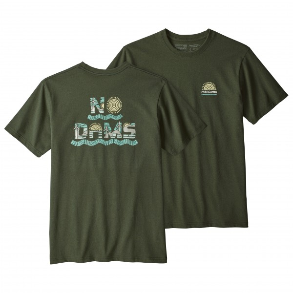Patagonia - No Dams Responsibili-Tee - T-shirt
