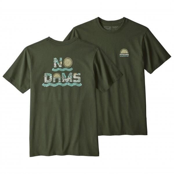 Patagonia - No Dams Responsibili-Tee - T-skjorte