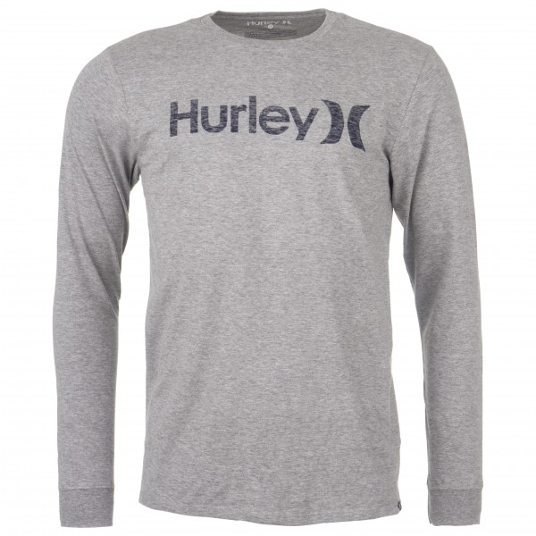 Hurley - One & Only Pushthrough L/S Heather - Longsleeve