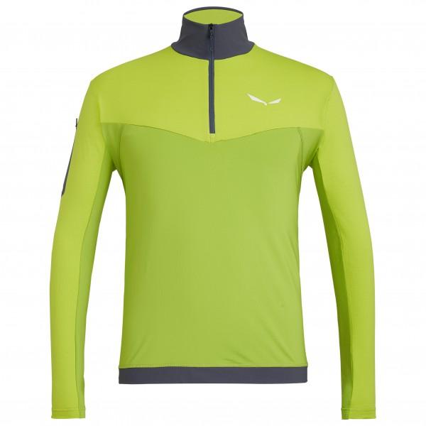 Salewa - Ortles L/S Zip Tee - Sport-T-shirt