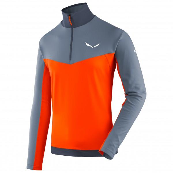 Salewa - Ortles L/S Zip Tee - Sportshirt