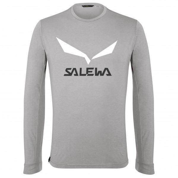 Salewa - Solidlogo Dry L/S Tee - Tekninen paita