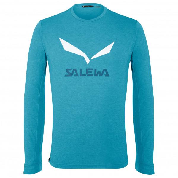 Salewa - Solidlogo Dry L/S Tee - Sport-T-shirt