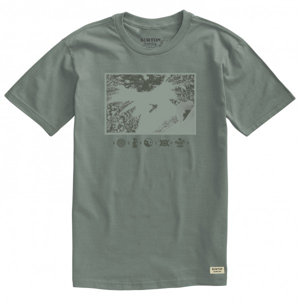 Burton - Make Tracks S/S - Camiseta de manga corta