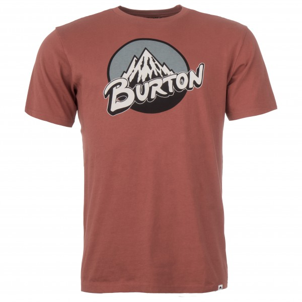 Burton - Retro Mountain S/S T-Shirt - T-paidat