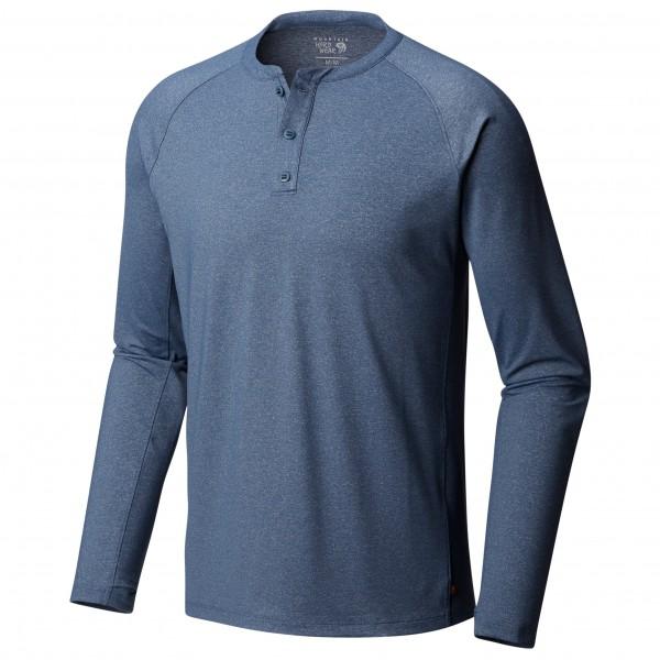 Mountain Hardwear - Arch Long Sleeve Henley - Tekninen paita