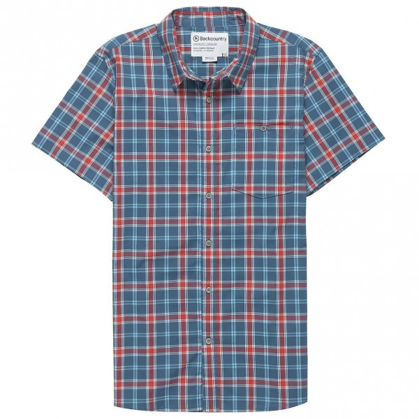 Backcountry - Featherweight Plaid Short-Sleeve Shirt - T-paidat