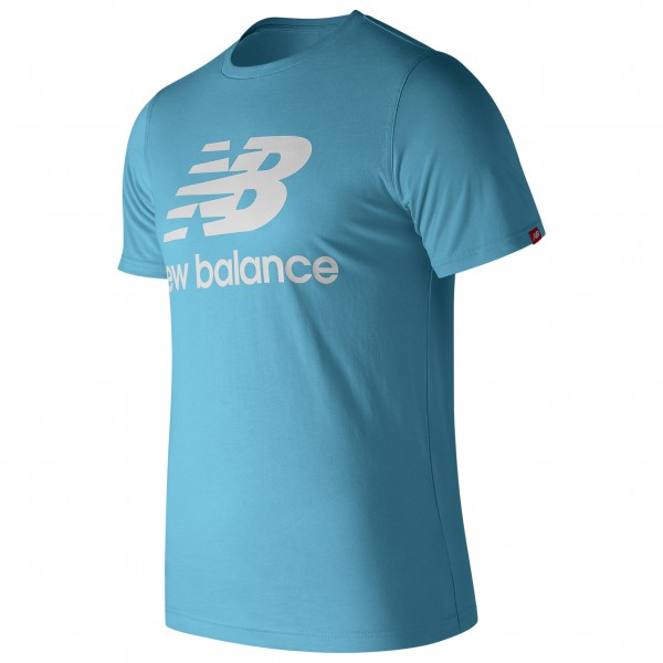 New Balance - Essentials Stacked Logo Tee - Joggingshirt