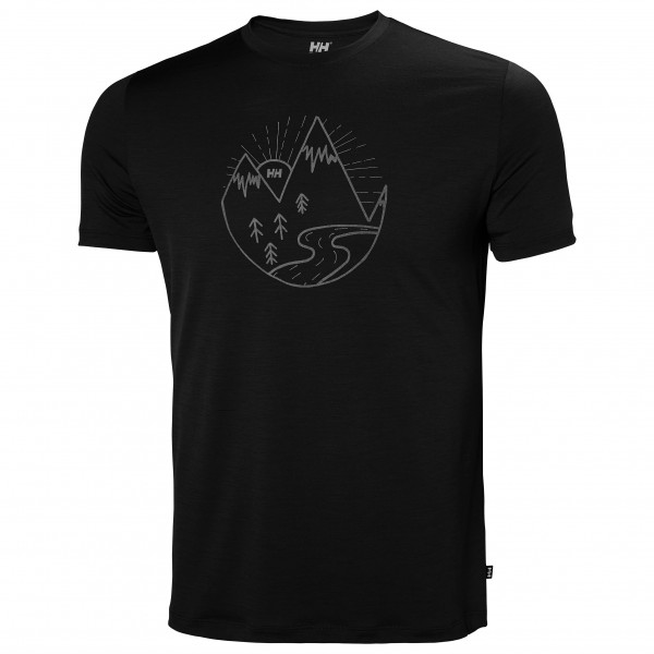 Helly Hansen - Merino Graphic T-Shirt - T-paidat