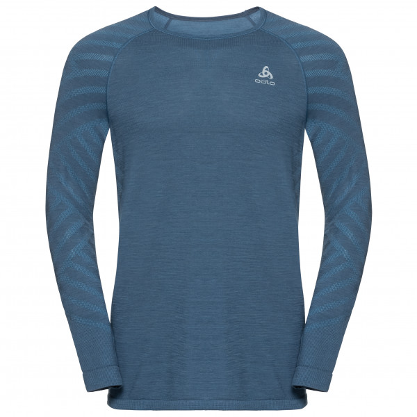 Odlo - BL Top Crew Neck L/S Kinship Seamless - Running shirt