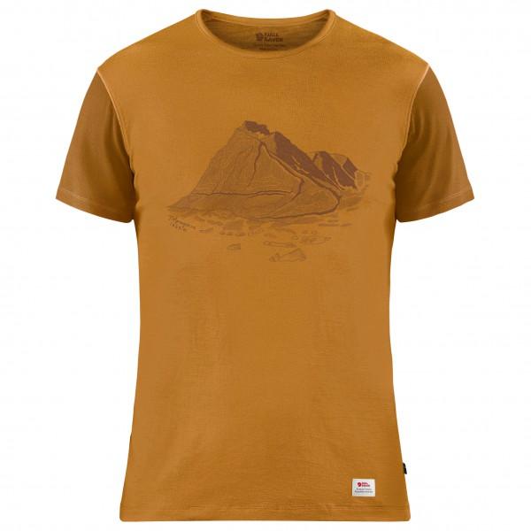 Fjällräven - Keb Wool Print - T-shirt