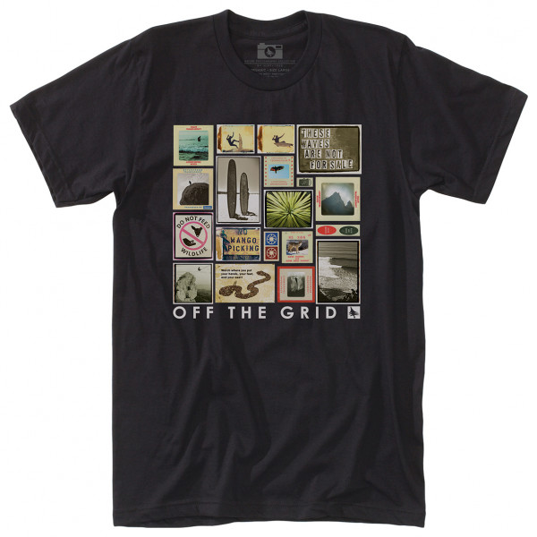 Hippy Tree - Collage Tee - T-shirt