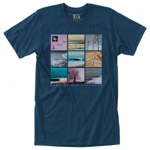 Hippy Tree - Gridpoint Tee - T-shirt
