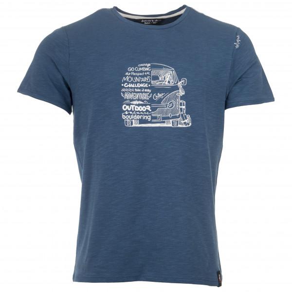 Chillaz - Lettering Bus Blue II - T-shirt