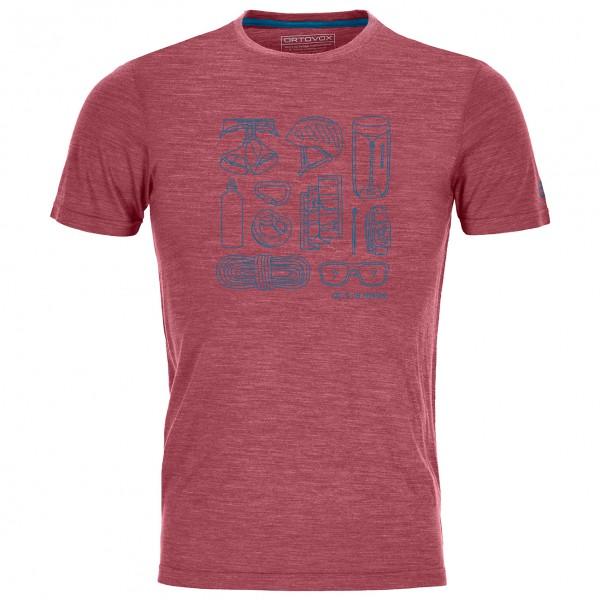 Ortovox - 120 Cool Tec Puzzle T-Shirt - T-shirt