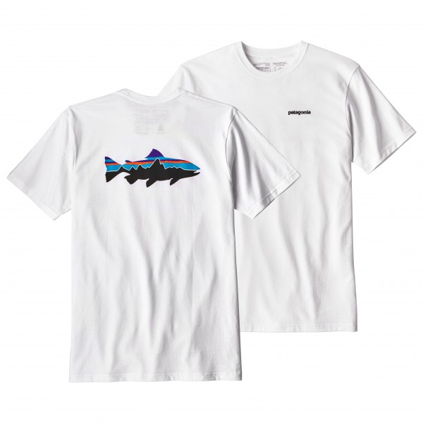 Patagonia - Fitz Roy Trout Responsibili Tee - T-Shirt