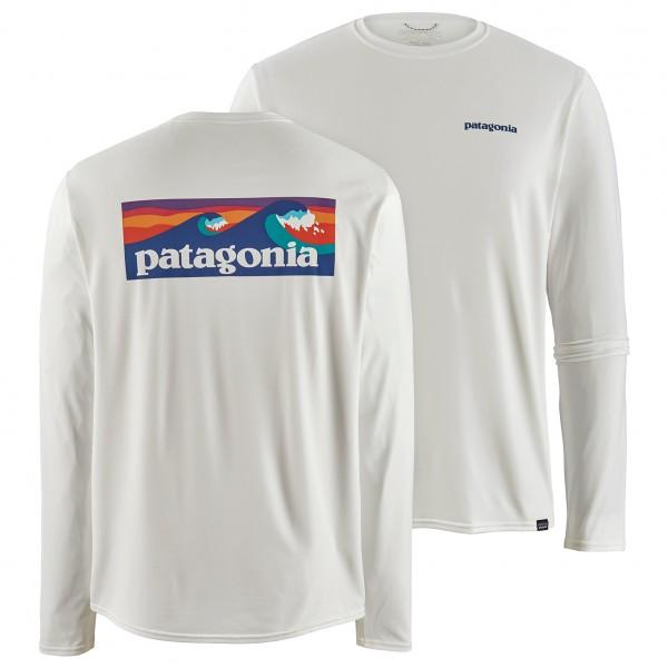 Patagonia - L/S Cap Cool Daily Graphic Shirt - Camiseta funcional