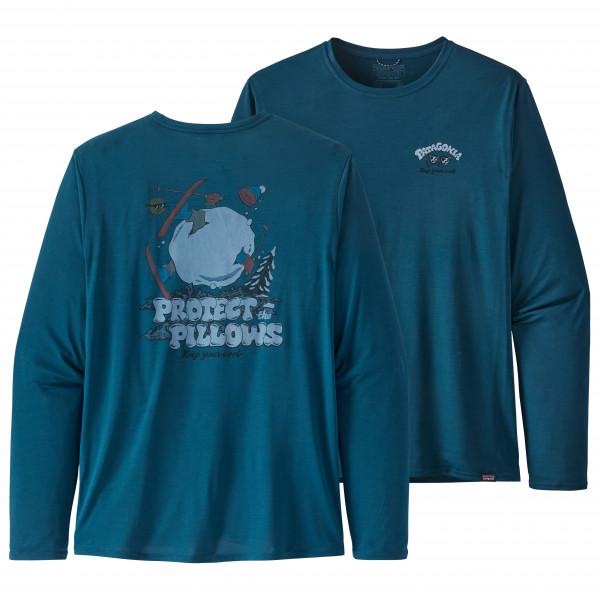 Patagonia - L/S Cap Cool Daily Graphic Shirt - Sportshirt