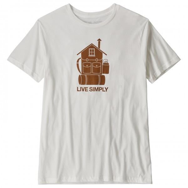 Patagonia - Live Simply Home Organic T-Shirt - T-paidat