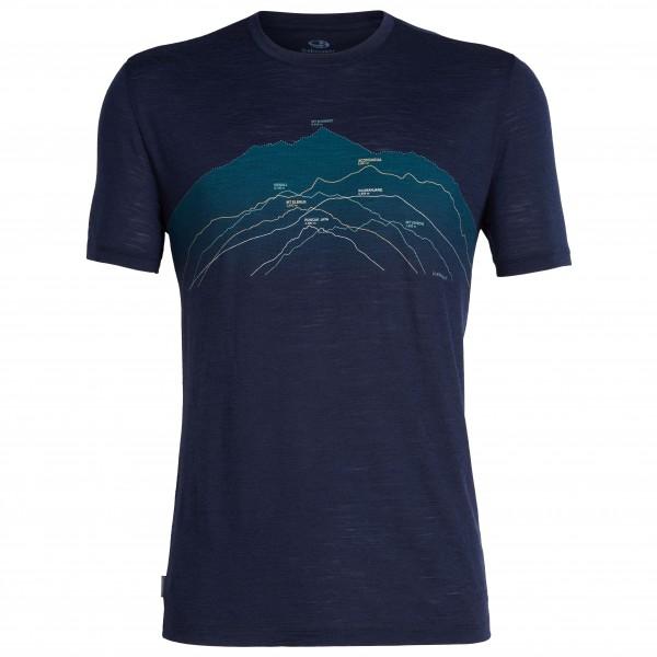 Icebreaker - Spector S/S Crewe Seven Summits - T-shirt