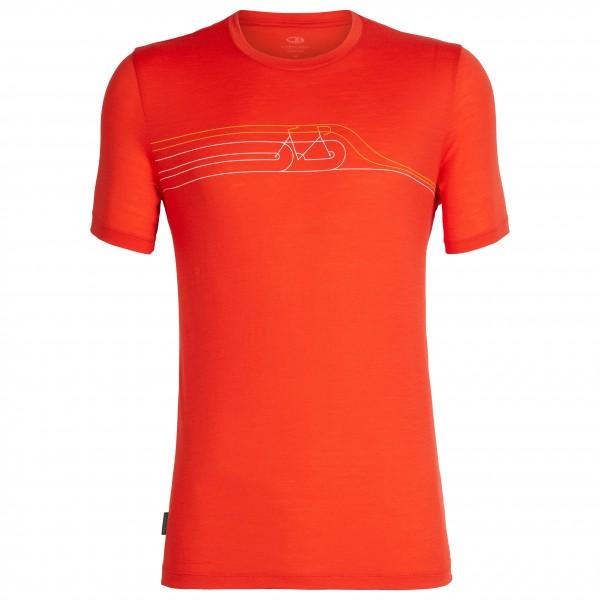 Icebreaker - Tech Lite S/S Crewe Cadence Pulse - T-skjorte