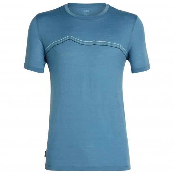 Icebreaker - Tech Lite S/S Crewe Rangitoto Triple - T-skjorte