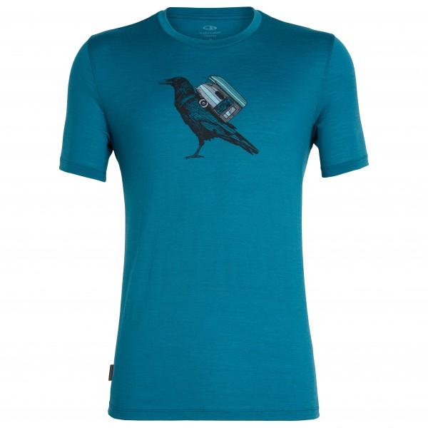 Icebreaker - Tech Lite S/S Crewe Ravencamp - T-Shirt