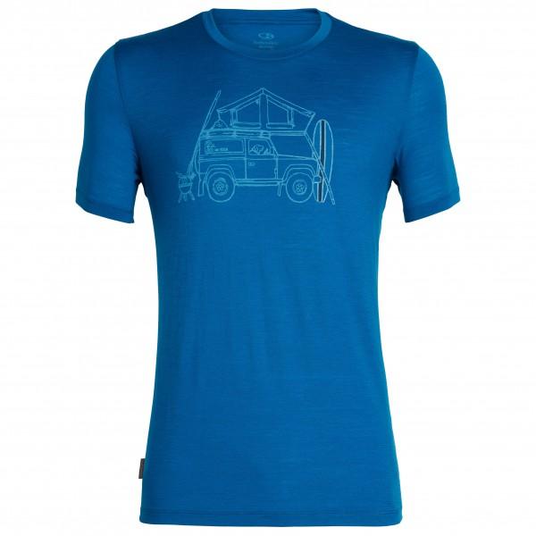 Icebreaker - Tech Lite S/S Crewe Surfspot Camper - T-shirt