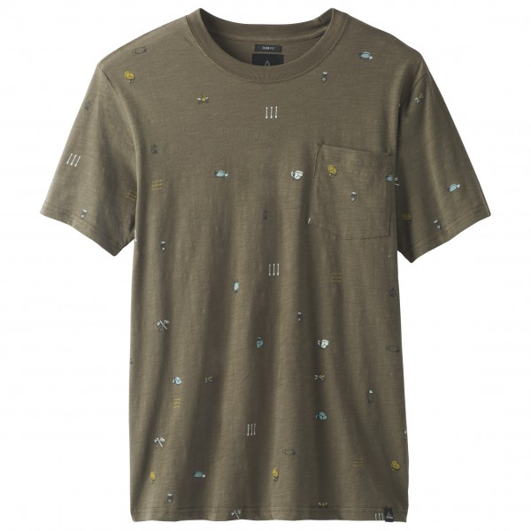 Prana - Auxi Crew - Slim - T-shirt