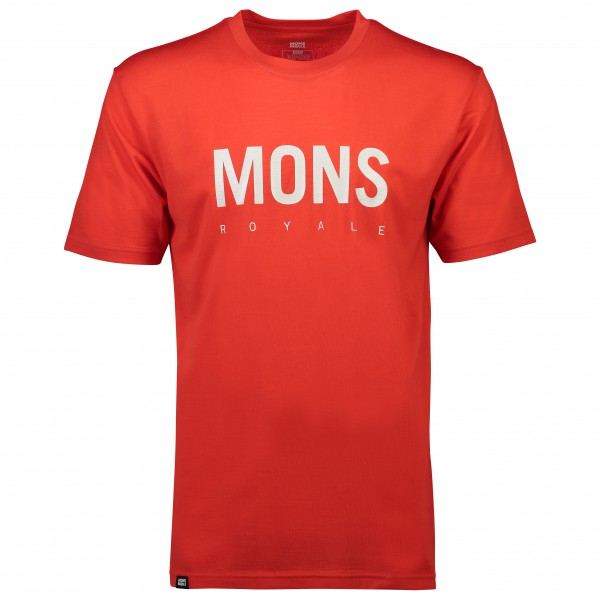 Mons Royale - Icon T-Shirt Big Logo