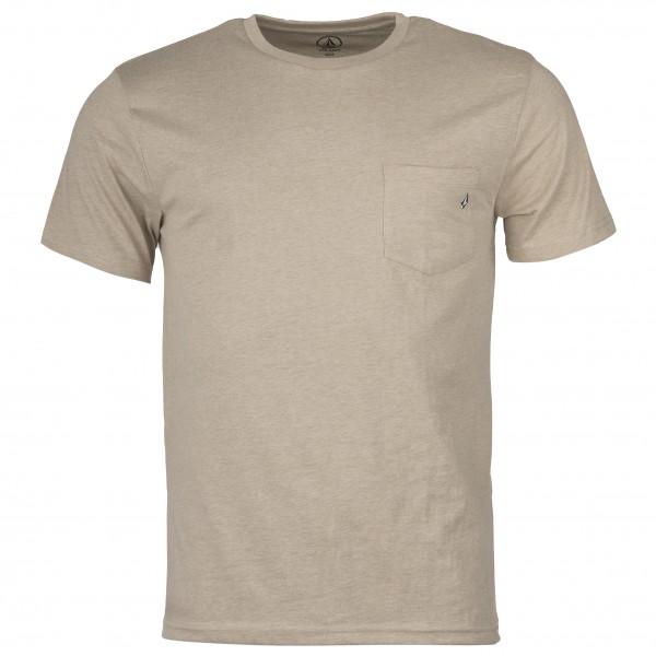 Volcom - Heather Pckt Hth S/S - T-shirt