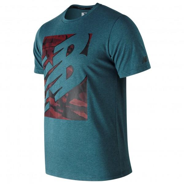 New Balance - Heathertech T - Sport shirt