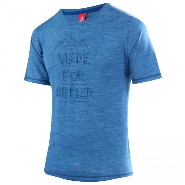 Löffler - Printshirt Merino Comfort - Sport shirt