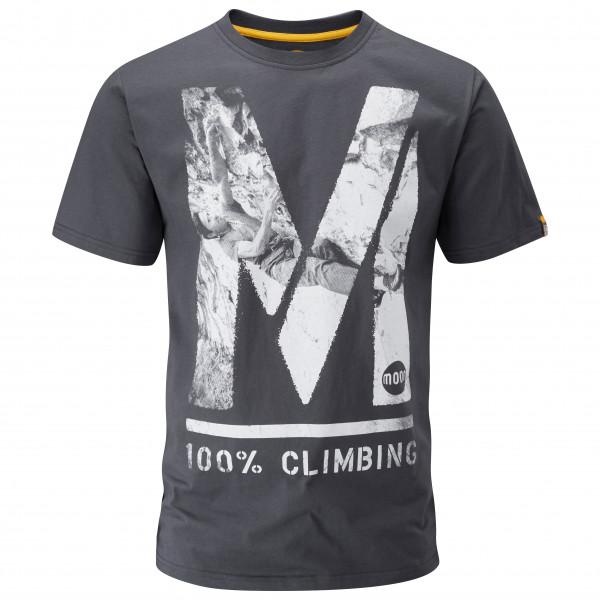 Moon Climbing - 100% Photo T-Shirt - T-paidat
