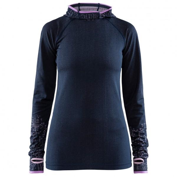 Craft - Women's Core Fuseknit L/S Hood - Running shirt