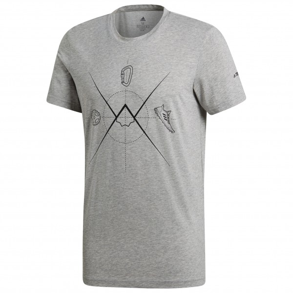 adidas - Ascend Tee - Funksjonsshirt