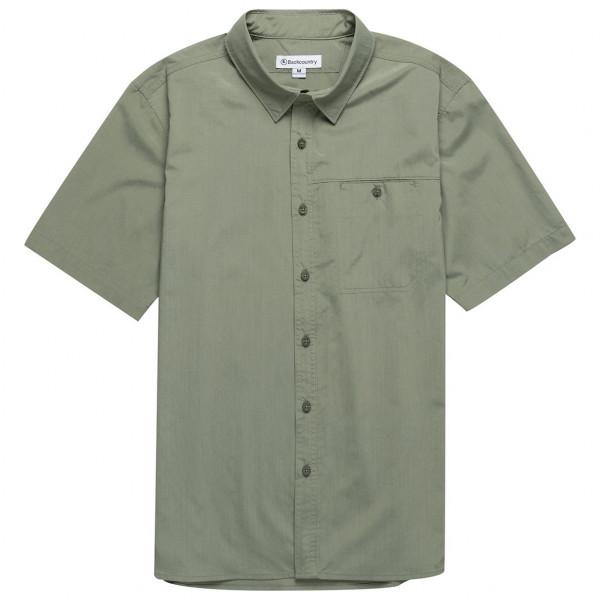 Backcountry - S/S Tech Woven Shirt - Sport-T-shirt
