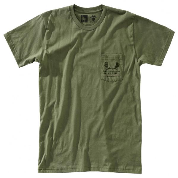 Hippy Tree - Antlers Tee Cotton - T-skjorte