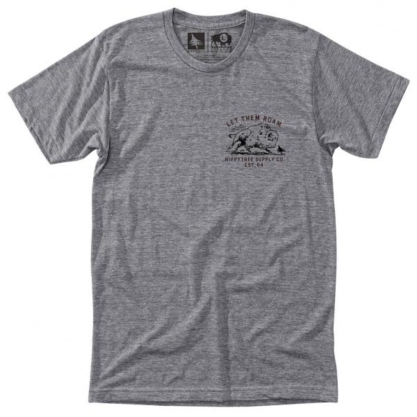 Hippy Tree - Bison Tee - T-paidat